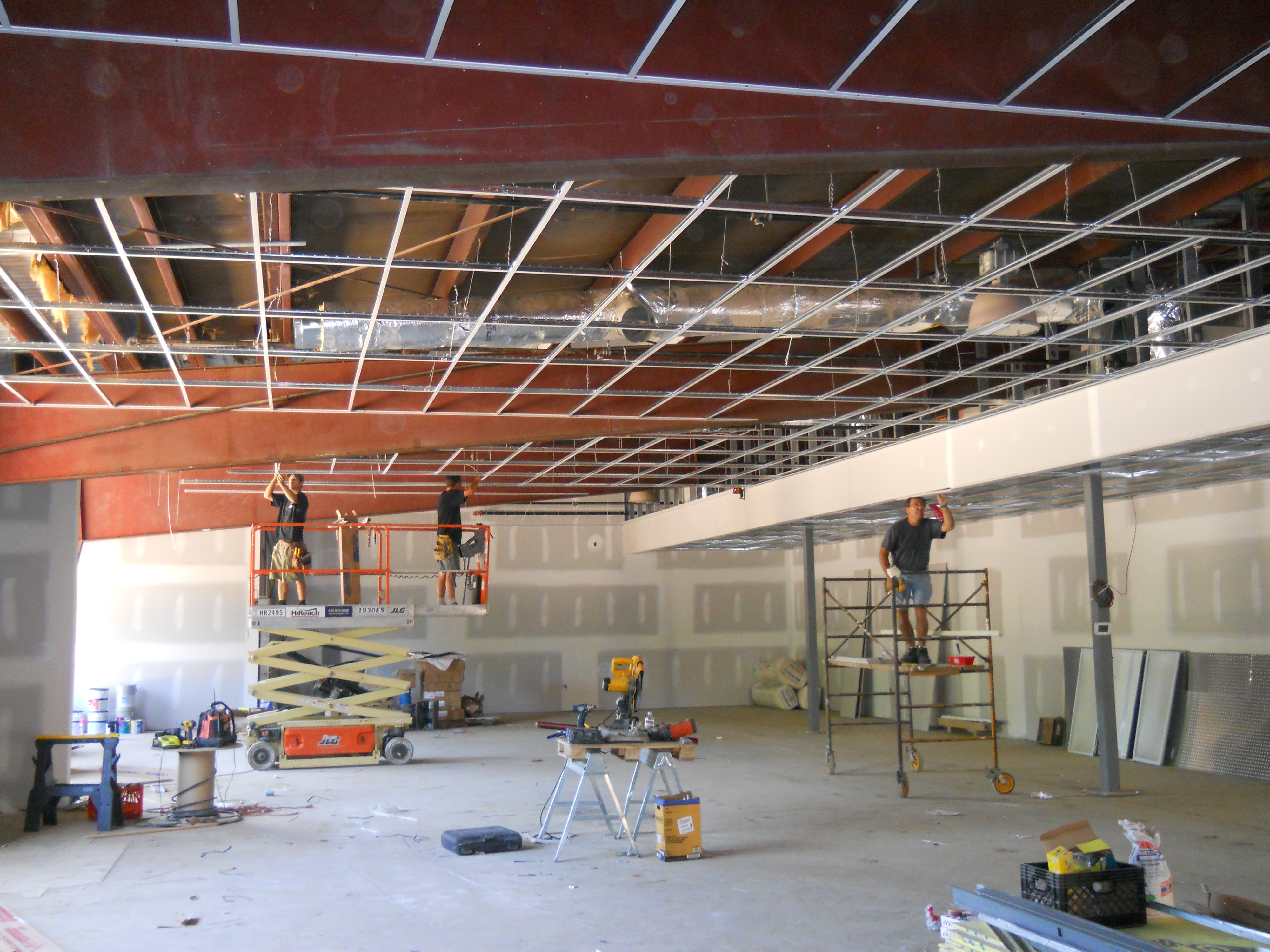 Accoustical Ceilings and Drywall